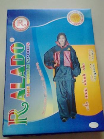 Bộ quần áo mưa Ralado-01