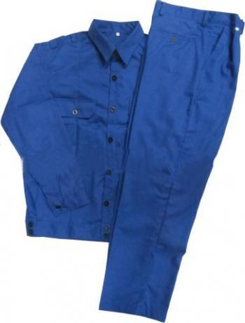 Quần áo bảo hộ công nhân Kaki-02