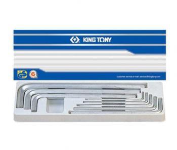 Bộ chìa vặn lục giác 8 cây hệ m 3-14mm Kingtony 20208MR01