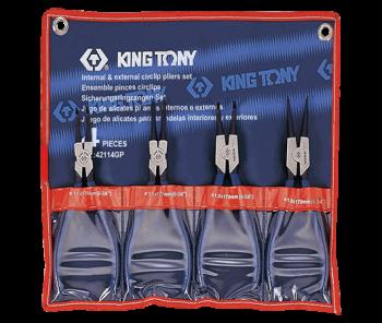 Bộ kìm mở phanh 4 Pc Kingtony 42114GP