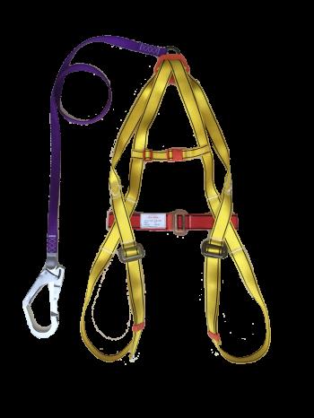 Dây toàn thân + dây nối 1 móc khóa lớn HT01