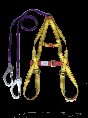 Dây toàn thân + dây nối 2 móc khóa lớn HT02