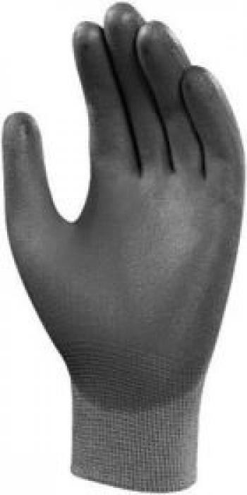 Găng tay phủ PU xám PU-PG