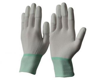 Găng tay phủ PU ngón trắng PU-FW