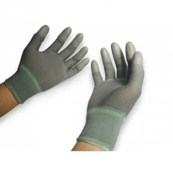Găng tay phủ PU ngón xám PU-FG