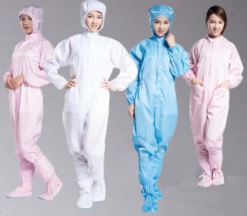Quần áo phòng sạch chống tĩnh điện ASE-QAS02